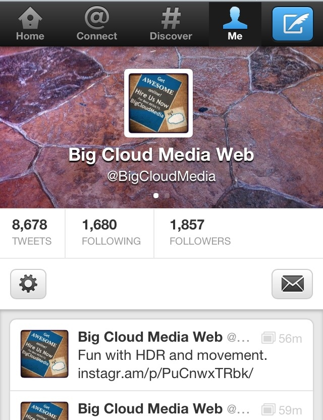 Twitter s new profile update