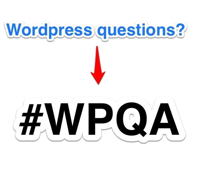 #WPQA on Twitter: An Effort to Do Some Good