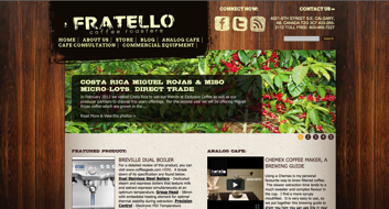 Folio: FratelloCoffee.com