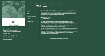 Folio: The Law Office of Chris A. Scherer