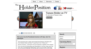 Folio: TheHolderPosition.com